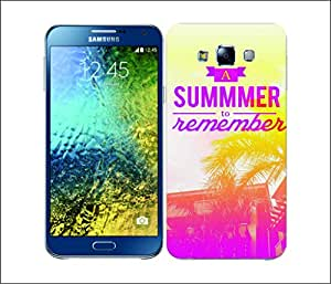 Galaxy Printed 2909 Summer Statement Remember Hard Cover for Samsung J1