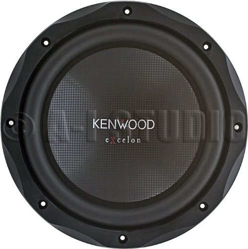Kenwood eXcelon KFC-XW10 Woofer - 300 W RMS/1000 W PMPO (10 Inch Kenwood Subwoofer 1000 compare prices)