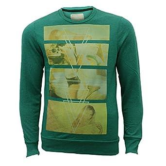 Men's Sweatshirt 1D2693 Green Small