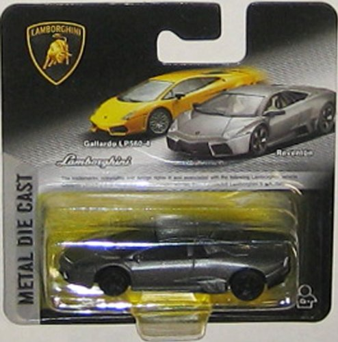 LAMBORGHINI REVENTON (Gray) 1:64 Scale Collectible Die Cast Car