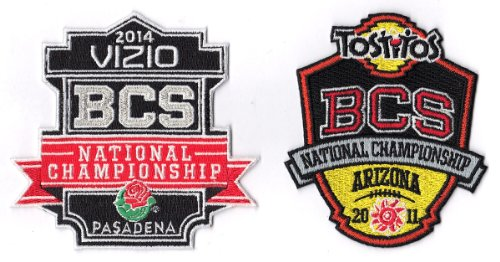2014 & 2011 BCS NATIONAL CHAMPIONSHIP NCAA BOWL GAME JERSEY PATCH AUBURN TIGERS at Amazon.com