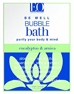 EO Bubble Bath Be Well, Eucalyptus and Arnica, 1.75 Ounce (Pack of 3)