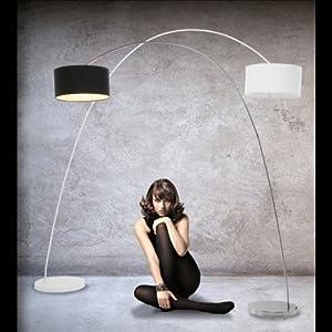 design bogenlampe von design delights lounge stehlampe. Black Bedroom Furniture Sets. Home Design Ideas