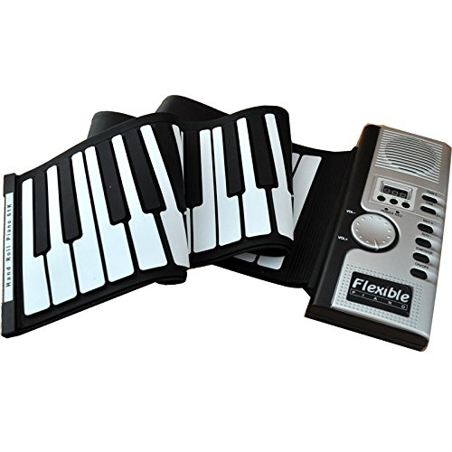 Fold Keyboard 61 Key Hand Roll Piano 61 Key Thickening Soft Keyboard Piano