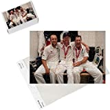 Photo Jigsaw Puzzle of Cricket - The Ashes 2009 - npower Fifth Test - England v Australia - Day Four - from PA Photos