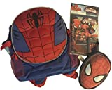 Spiderman Back to School Big Muscles Backpack, 7 pc. Calculator Set, & Spidey Pencil Case