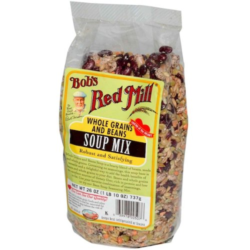 ... - Bob's Red Mill Bountiful Black Bean Soup Mix, 26-Ounce (Pack Of 4