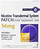 Nicotine Trans Patch Smoking Cessation, Step 2, 14 Mg