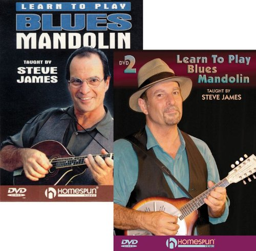 Steve James: Learn to Play Blues Mandolin, Vol. 1 and 2