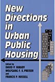 img - for New Directions in Urban Public Housing book / textbook / text book