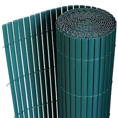 pvc sichtschutzmatte 90x300cm gr n sichtschutz windschutz gartenzaun balkon. Black Bedroom Furniture Sets. Home Design Ideas