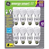 GE 13-Watt Energy SmartTM - 8 Pack - 60 watt replacement