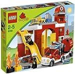 LEGO Duplo 6168 - Feuerwehr-Hauptquar...