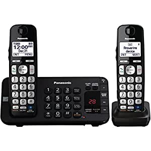 Panasonic KX-TGE243B DECT 6.0 Expandable Digital Cordless