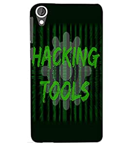 HTC DESIRE 820 HACKING TOOLS Back Cover by PRINTSWAG