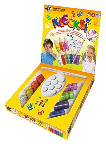 feuchtmann-juguetes-6330618-klecksi-dedo-pintura-conjunto-del-artista-10-pieza