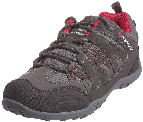 Karrimor Unisex-Adult Traveller II Dark Grey/Cochineal Walking Shoe K248-DGC-151 7 UK, 41 EU, 8 US