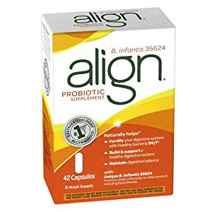 Align B. Infantis 35624 Probiotic Supplement 42 Count