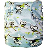 (LOVE MY) Baby Fitted Pocket Washable Reusable Cloth Diapers Fit For 6-33lbs Baby,breathable, Adjustable Snap(...