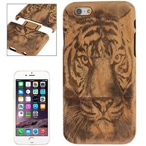 Crazy4Gadget Tiger Pattern Arc Border Separable Cherry Wooden Case for iPhone 6 Plus & 6S Plus