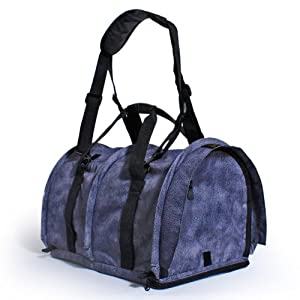 Large SturdiBag (Charcoal Leather) from Sturdi Products Inc