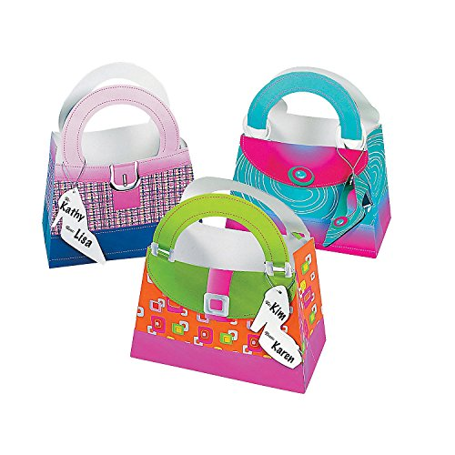 Girlie Gift Bags With Shoe Tags (1 dozen) - Bulk