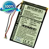Vhbw Battery 1200mAh (3.7V) for TomTom Go 520 720 920.