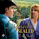 Signed and Sealed (       UNABRIDGED) by B. A. Stretke Narrated by Jeff Gelder