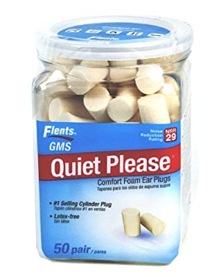 Flents Quiet Please Foam Ear Plugs, 150 Pairs