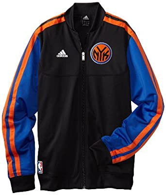 New York Knicks adidas Home Weekend 2012-2013 Authentic On-Court Jacket by adidas