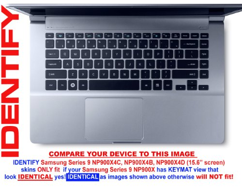 Decalrus - Decal Skin Sticker for Samsung ATIV Book 9 Ser NP900X4C, NP900X4B, NP900X4D with 15.6