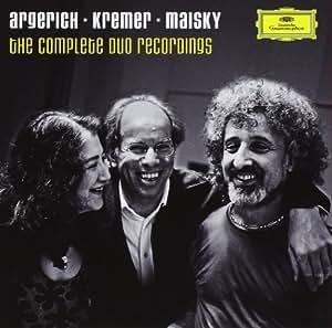 Martha Argerich :  Intégrale des enregistrements en duo (13 CD)