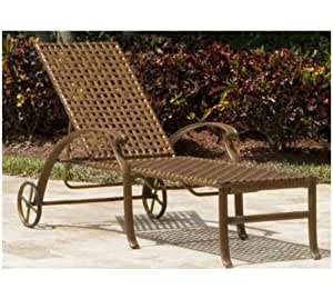 Pelican Reef Coco Palm Patio Chaise Lounge
