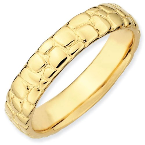 Cobblestone Stackable Ring 4.25mm - Size 8