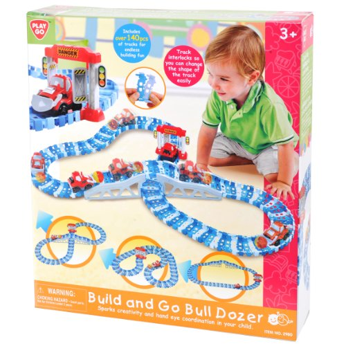PlayGo Build and Go Bull Dozer