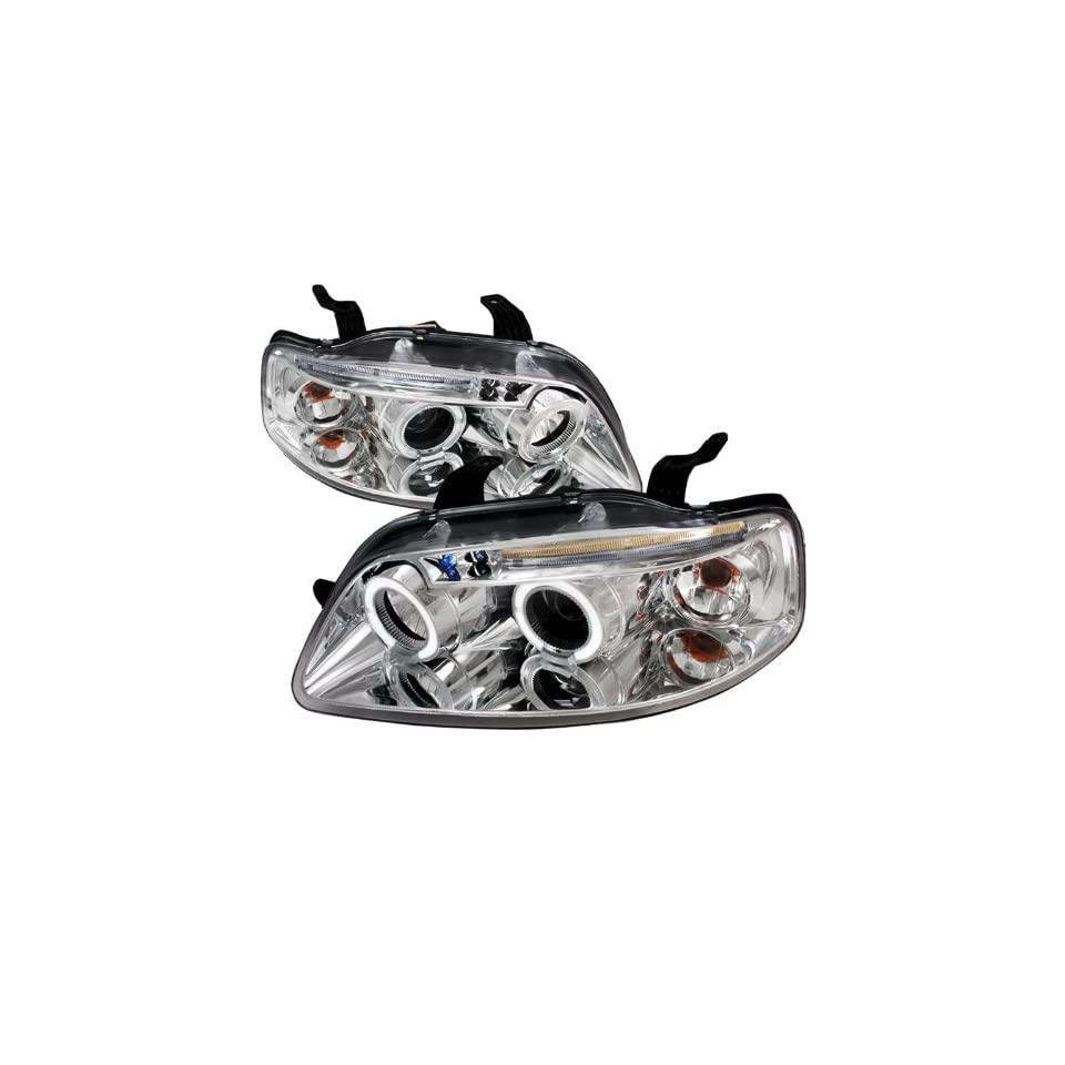 Chevy Aveo 4Dr Chrome Clear Projector Head Lights