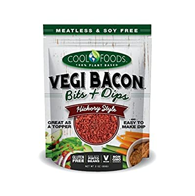 Vegi Bacon Bits and Dips- VEGGIE vegan bacon from Cool Cups LLC