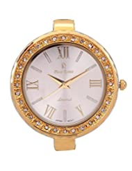 Piere Renee BT1117SILVER-B White Dial Analog Watch - For Women (silver)
