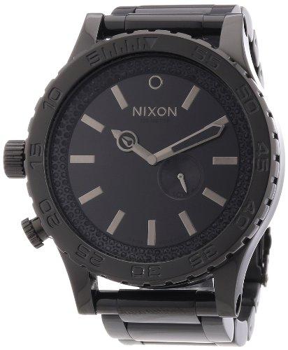 Nixon 51-30 - Reloj analógico unisex de acero inoxidable gris
