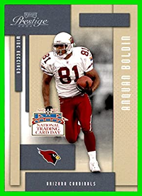 2004 National Trading Card Day #DP5 Anquan Boldin ARIZONA CARDINALS PLAYOFF PRESTIGE