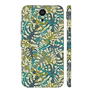 Enthopia Designer Hardshell Case Leaved Patch Back Cover for Meizu M2 Note