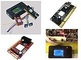 KALEA-INFORMATIQUE © - Boitier de Test pour cartes mères avec Ecran LCD - Interfaces PC portable et PC de bureau : PCI / Mini PCI / Mini PCIe / LPC - OUTIL PROFESSIONNEL / VERSION 2014...