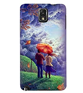 Printvisa Love Couple Admiring Nature Back Case Cover for Samsung Galaxy Note 3 N9000::Samsung Galaxy Note 3 N9002::Samsung Galaxy Note 3 N9005 LTE