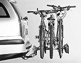 MOTTEZ M7003 Fahrradträger Heckträger 3 Räder Anhängerkupplung TÜV