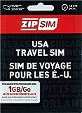 ZIP SIM データ通信+SMS(1GB、14日間)アメリカ用プリペイドSIM (※旧名称 READY SIM 2016年4月より商品名・パッケージが変更となりました)