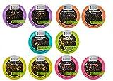 NEW! 12 Cup Higgins & Burke Loose Leaf TEA EcoCups. Recycle your cup! Kaziranga Chai Tea... Lush Berry Herbal Tea +