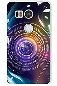 IndiaRangDe Case For Google LG Nexus 5X Printed Back Cover