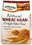 Jordans Natural Wheat Bran 375 g (Pack of 4)