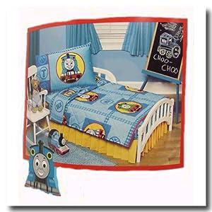 thomas train 4pc toddler bedding set crib new boy childrens bedding