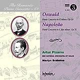 Oswald, Napoleão : Concertos pour piano. Pizarro, Brabbins.